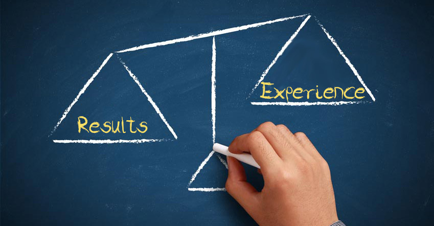Results or Experience? Which one builds brand loyalty?